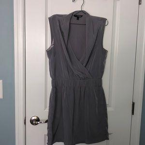 Express light gray dress